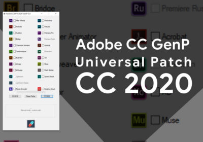 Adobe CC 2020 GenP Universal Patch