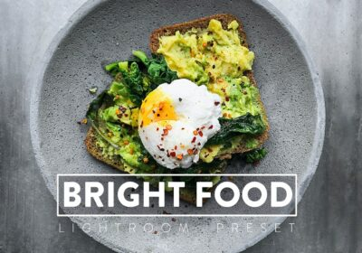 10 Bright Food Lightroom Presets
